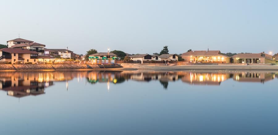 Sunset-lac-Vieux-Boucau