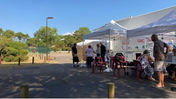 VaccinoBus à Vieux Boucau