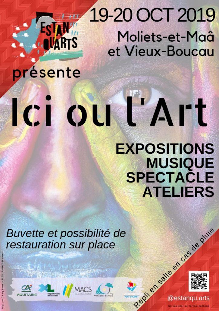 Affiches-Ici-ou-l-Art-_VieuxBoucau_landesatlantiquesud