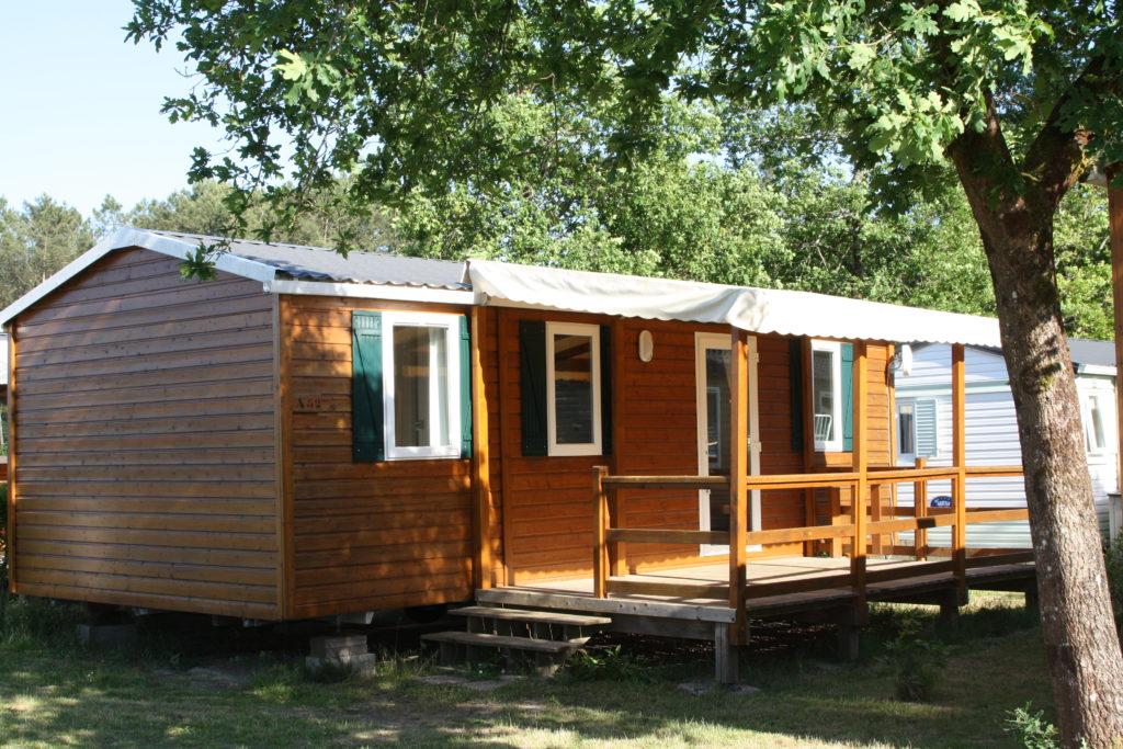 Camping_Azurivage_ Azur_Landes atlantique sud bungalow