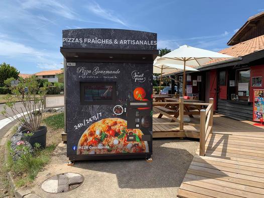 Distributeur de pizza-Pizza gourmande-Vieux Boucau-Landes atlantique Sud