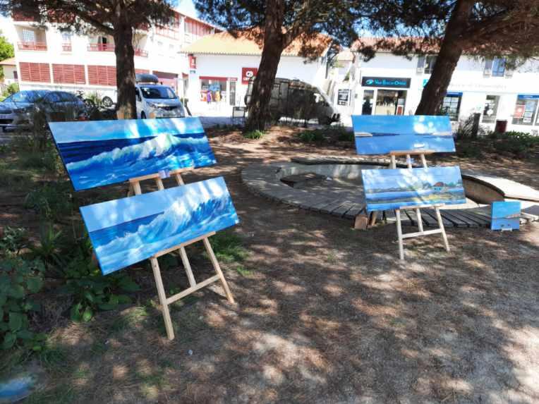 Exposition peintre_vieuxboucau_landesatlantiquesud