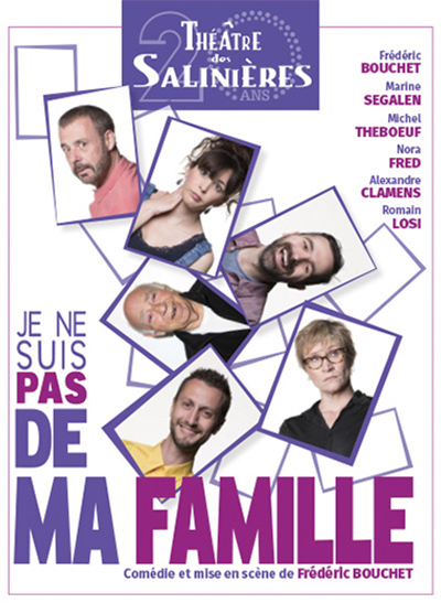 Scène d'Albret / Théâtre Comédie / Je ne suis pas de ma famille