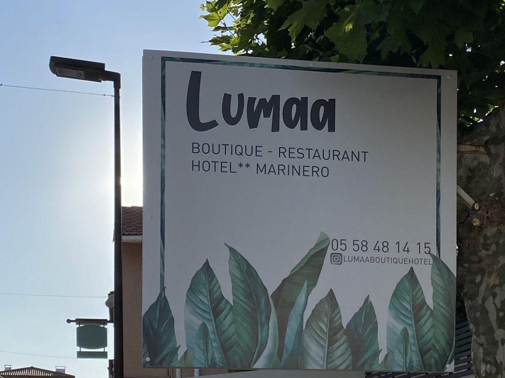panneau hotel boutique restaurant lumaa marinero web